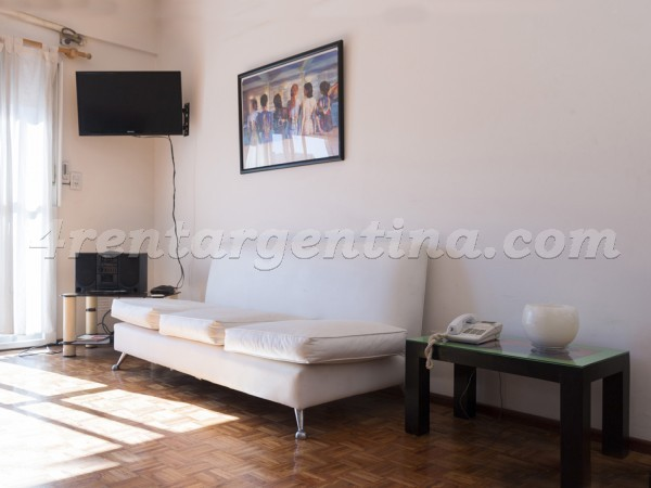 Paraguay et Godoy Cruz: Furnished apartment in Palermo