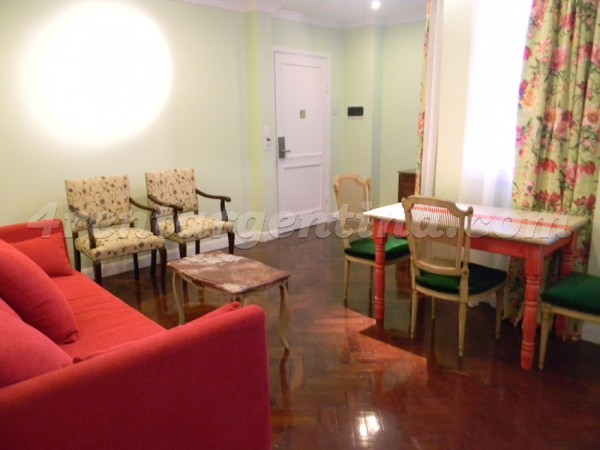Moreno and Piedras XIV: Furnished apartment in Downtown