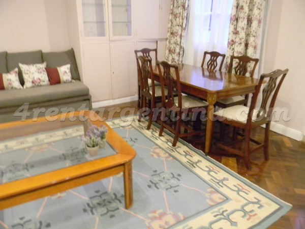 Moreno and Piedras XVII: Furnished apartment in Downtown