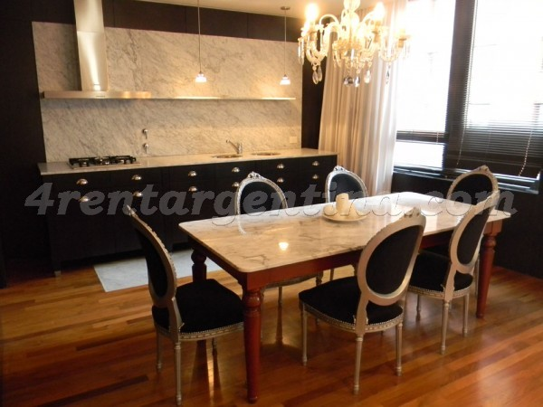 Martha Salotti and Juana Manso, apartment fully equipped
