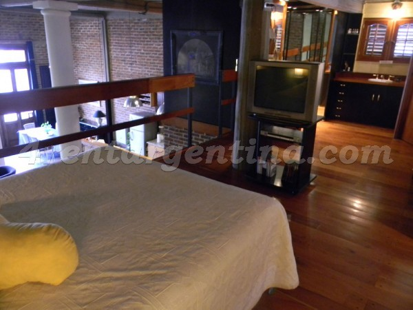 Moreno et Rincon I: Furnished apartment in Congreso