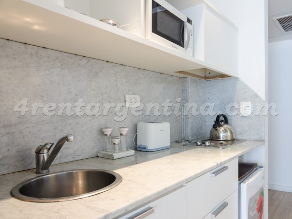 Laprida and Juncal VI: Furnished apartment in Recoleta