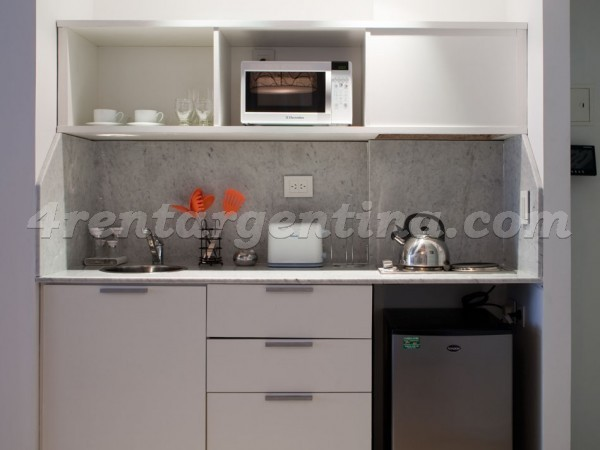 Laprida and Juncal VIII, apartment fully equipped