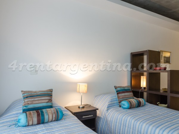 Laprida et Juncal IX: Furnished apartment in Recoleta