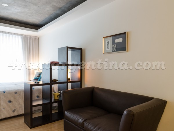 Laprida and Juncal IX, apartment fully equipped