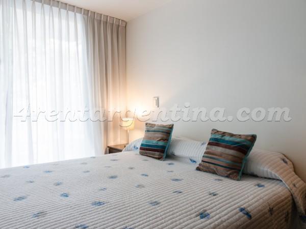 Laprida and Juncal IX: Furnished apartment in Recoleta