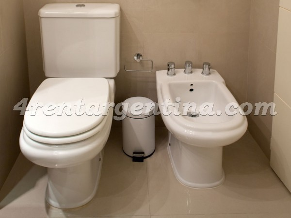 Laprida et Juncal X: Furnished apartment in Recoleta