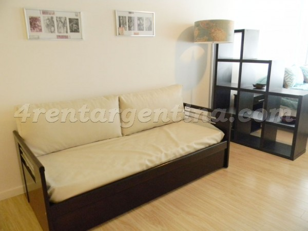 Laprida and Juncal XI, apartment fully equipped