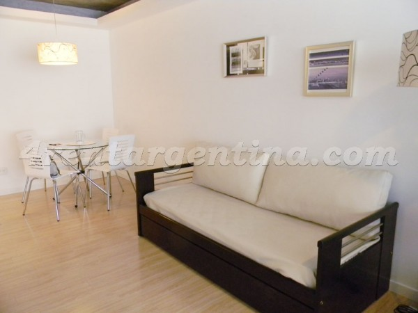 Laprida and Juncal XI: Furnished apartment in Recoleta