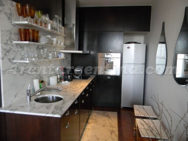 Eyle and Manso II: Furnished apartment in Puerto Madero