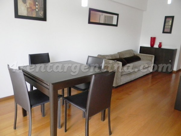 Soldado de la Independencia and Federico Lacroze I: Furnished apartment in Las Ca�itas