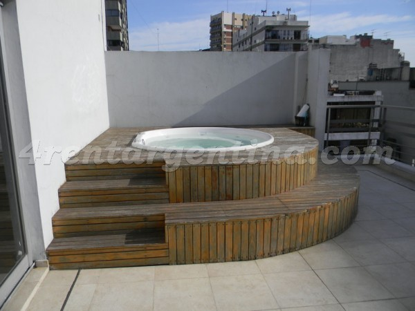 Soldado de la Independencia and Federico Lacroze I, apartment fully equipped
