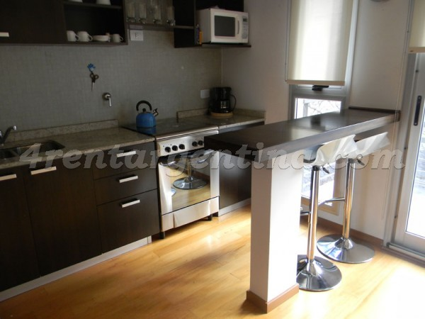 Soldado de la Independencia and Federico Lacroze II, apartment fully equipped