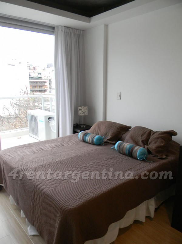 Laprida and Juncal XII: Furnished apartment in Recoleta
