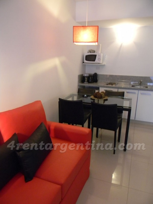 Peron and Montevideo II: Furnished apartment in Downtown