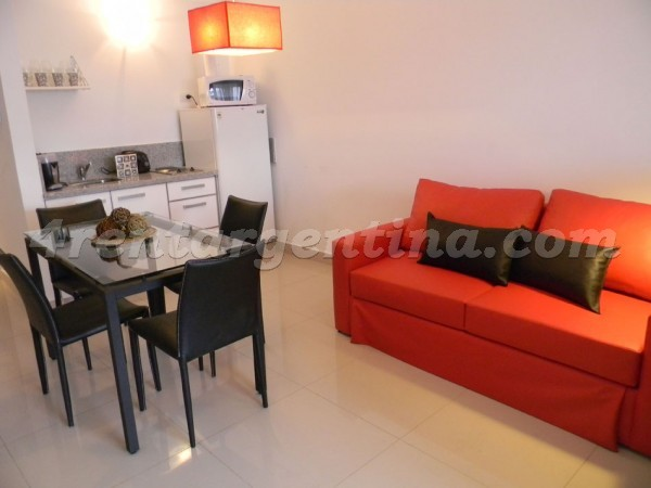 Peron and Montevideo III: Furnished apartment in Downtown