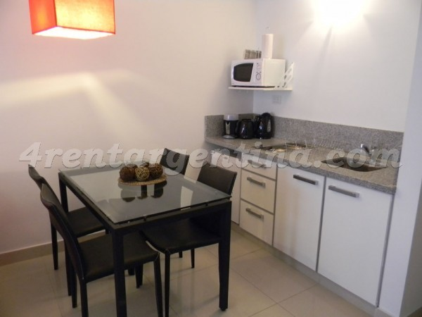 Peron and Montevideo: Furnished apartment in Downtown
