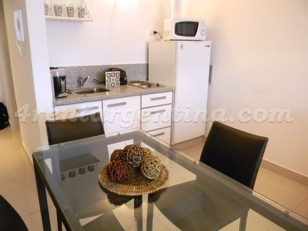 Peron and Montevideo I: Furnished apartment in Downtown