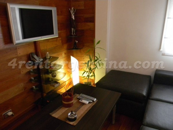 Melian and Juramento, apartment fully equipped