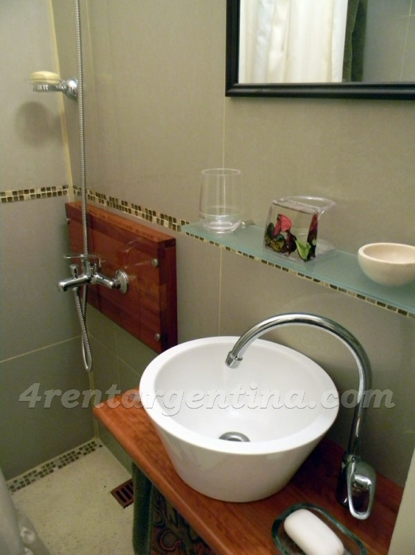 Tucuman et Pellegrini I, apartment fully equipped