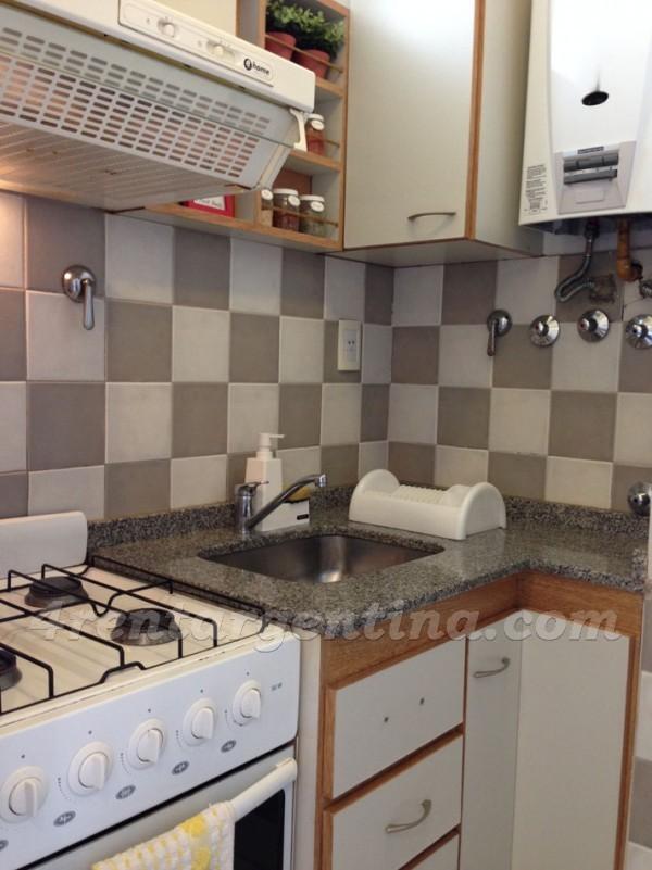 Tucuman and Pellegrini II, apartment fully equipped