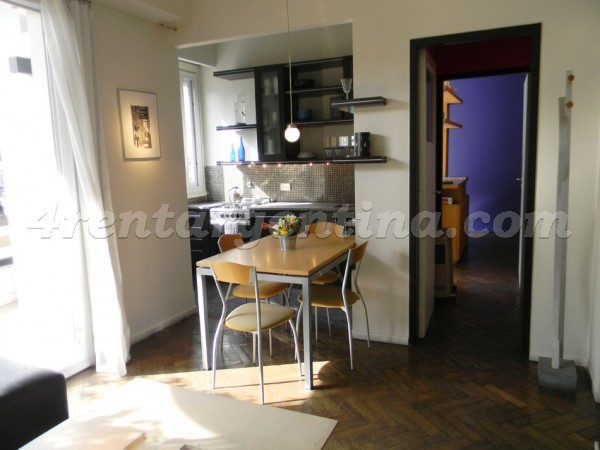 Bolivar et Carlos Calvo: Furnished apartment in San Telmo