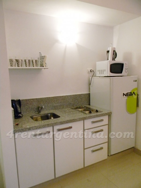 Peron and Montevideo IV: Furnished apartment in Downtown