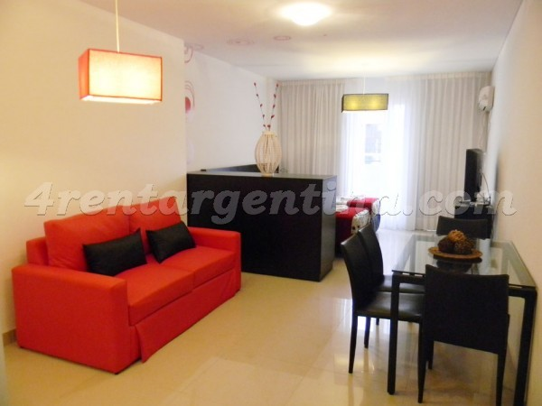 Peron and Montevideo IV, apartment fully equipped