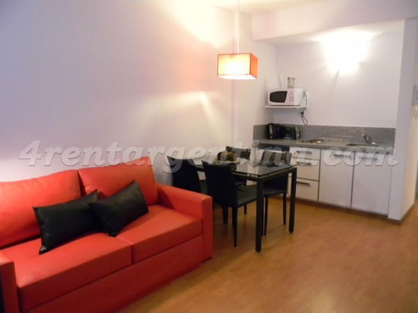Peron and Montevideo V: Furnished apartment in Downtown