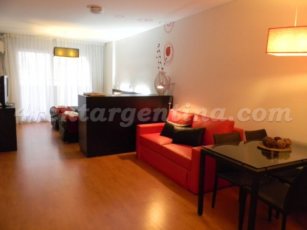 Peron and Montevideo V, apartment fully equipped