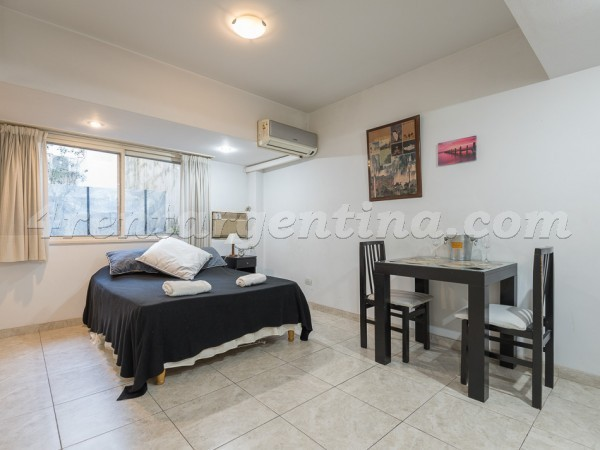 Azcuenaga and Guido II: Furnished apartment in Recoleta