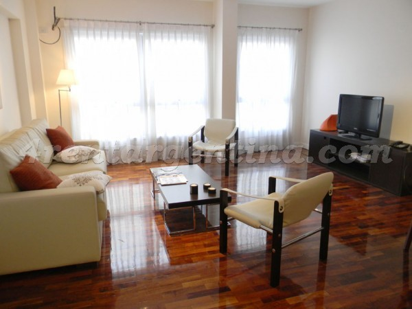 Riobamba and M.T. de Alvear, apartment fully equipped