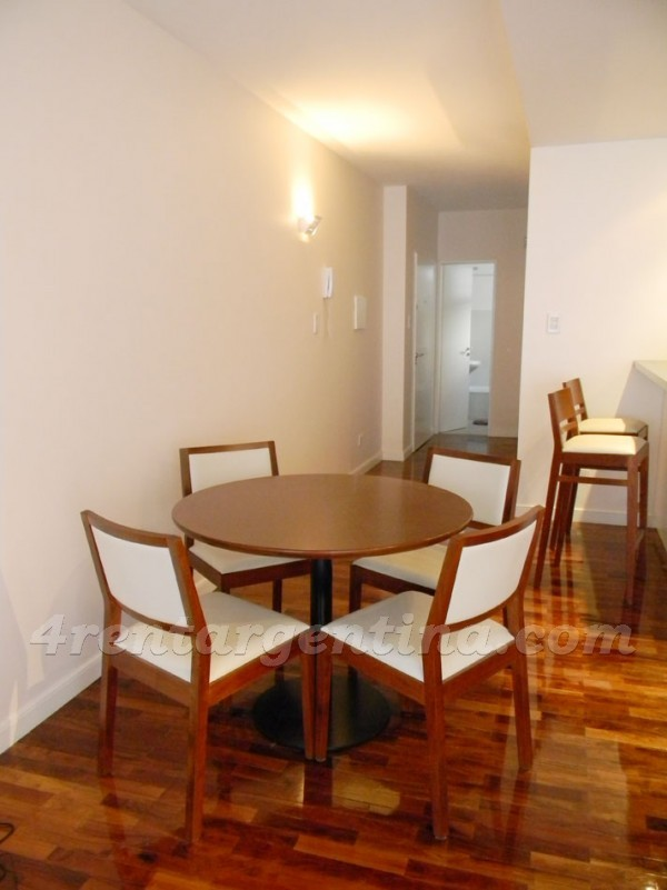 Riobamba and M.T. de Alvear: Furnished apartment in Recoleta