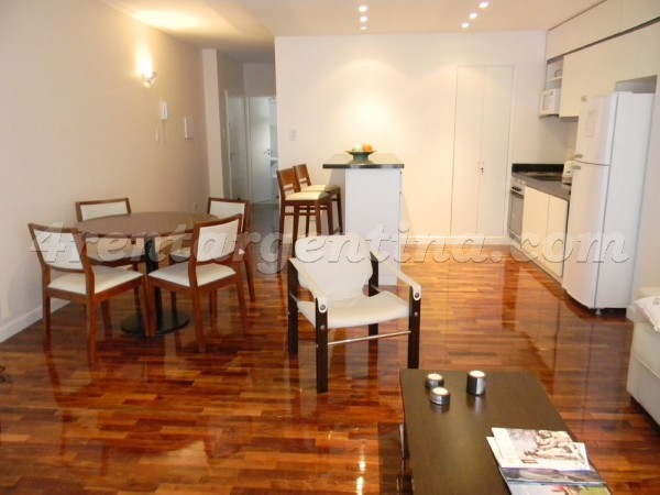 Riobamba and M.T. de Alvear: Apartment for rent in Recoleta