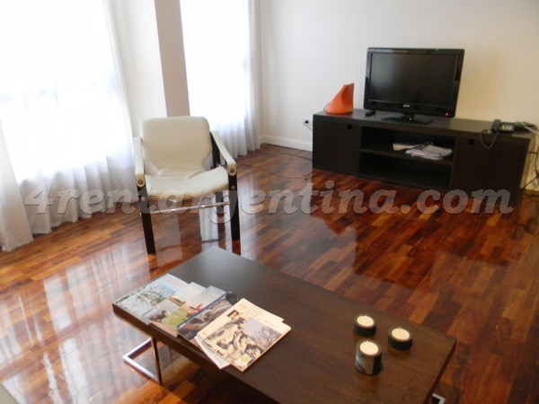 Apartment Riobamba and M.T. de Alvear - 4rentargentina