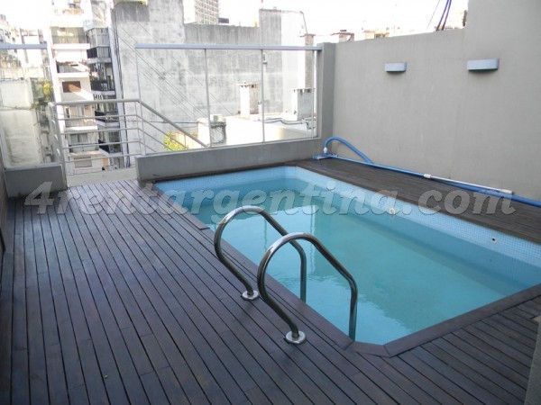 Arenales and Callao V: Furnished apartment in Recoleta