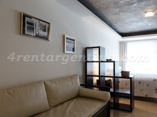 Laprida and Juncal XIII: Furnished apartment in Recoleta