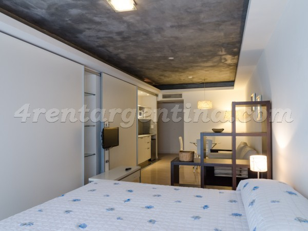 Laprida et Juncal XIII: Furnished apartment in Recoleta