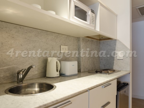 Laprida and Juncal XIII, apartment fully equipped