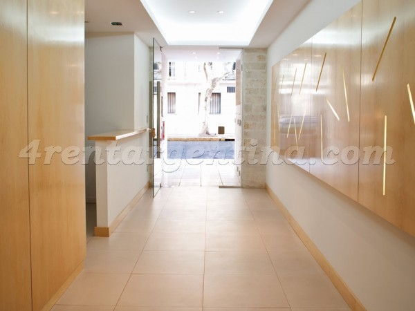 Laprida and Juncal XIV: Furnished apartment in Recoleta