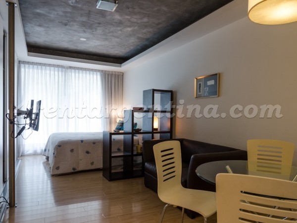 Laprida and Juncal XVI, apartment fully equipped