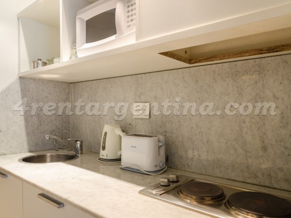 Laprida and Juncal XVIII, apartment fully equipped