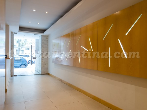 Laprida and Juncal XVIII: Apartment for rent in Recoleta