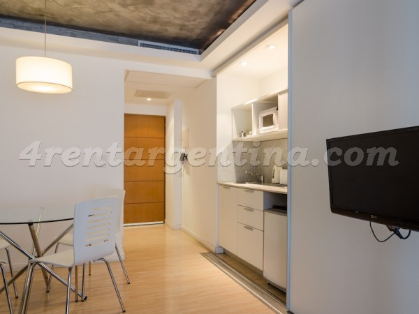 Laprida and Juncal XVIII: Furnished apartment in Recoleta