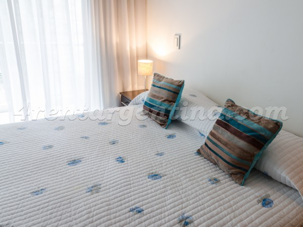 Laprida and Juncal XIX, apartment fully equipped