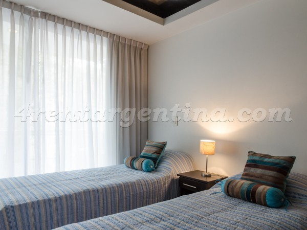 Laprida et Juncal XIX: Furnished apartment in Recoleta