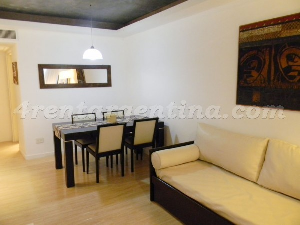 Laprida and Juncal XX: Furnished apartment in Recoleta