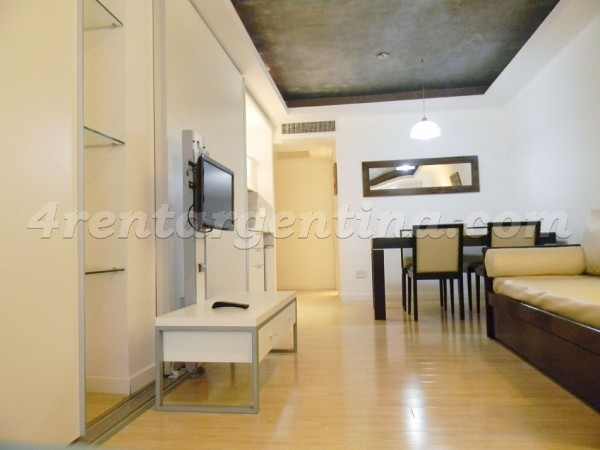 Laprida and Juncal XX, apartment fully equipped