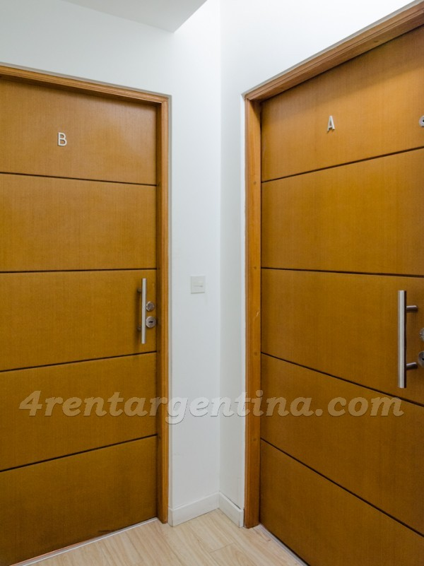 Laprida and Juncal XXI, apartment fully equipped