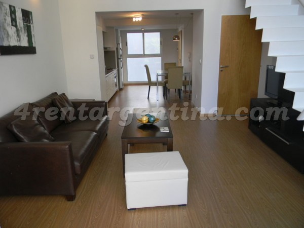 Costa Rica and Dorrego: Furnished apartment in Palermo